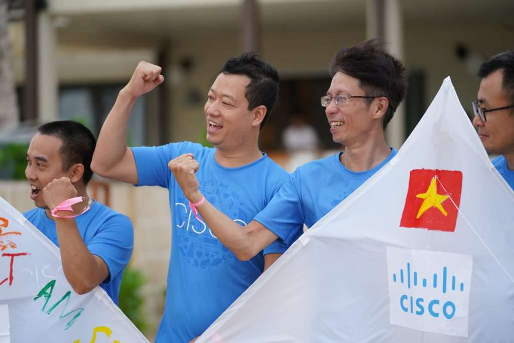 Cisco Systems Vietnam Great Place to Work Certified