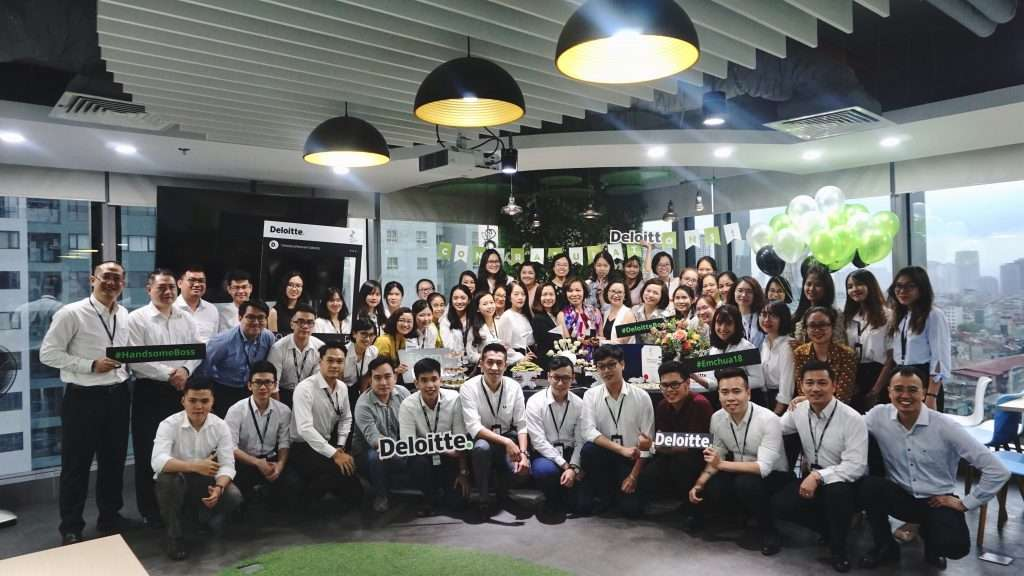 Deloitte Great Place To Work-Certified
